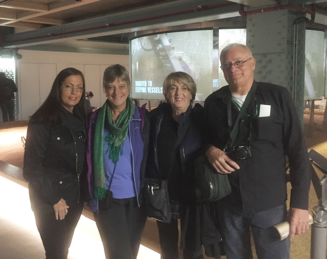 Verna and fellow Group Coordinators at the Guinness Factory in Dublin, Ireland