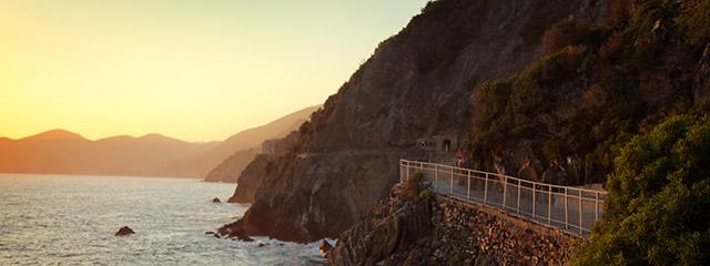 Via dell'Amore in Cinque Terre, Italy