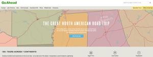 New Go Ahead Tours website