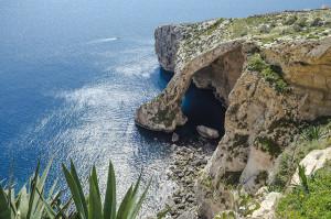 Blue Grotto in Malta, Italy