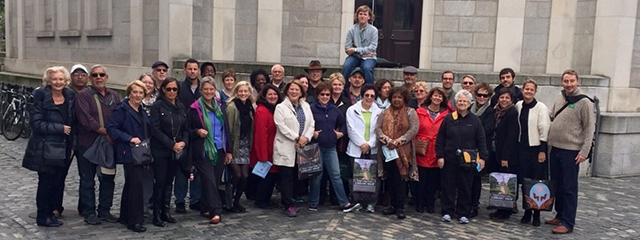 Group Coordinators at Trinity College in Dublin, Ireland on convention