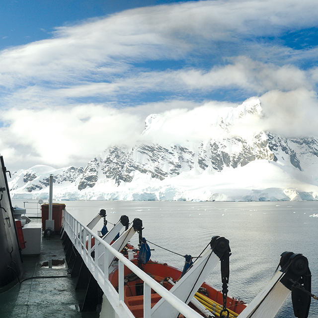 On tour in Antarctica