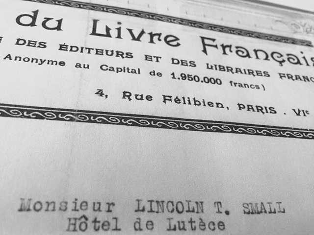 Retracing grandfather's steps in Paris, France