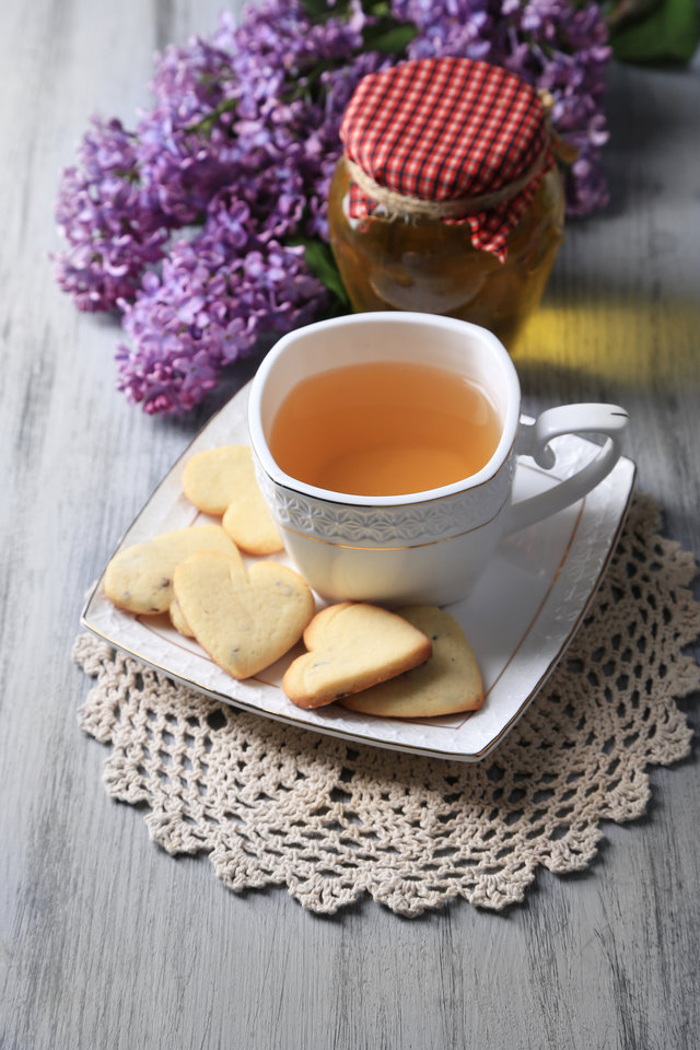 Recipe for honey lavender cookies