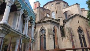 The Basilica of San Francesco in Bologna, Italy