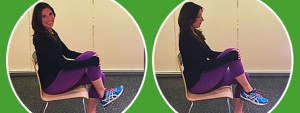 Stretches to keep you centered while traveling
