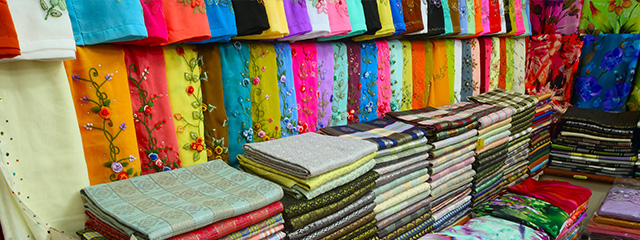 Buy local crafts and souvenirs at the Central Market in Kuala Lumpur, Malaysia