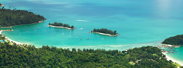 Visit an island off the coast of Malaysia