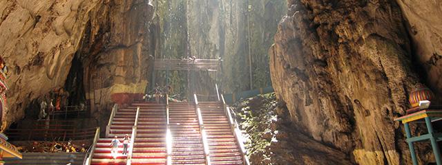 Explore the Batu Caves in Malaysia
