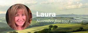 Our November free tour winner