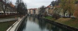 A day on tour in Ljubljana, Slovenia