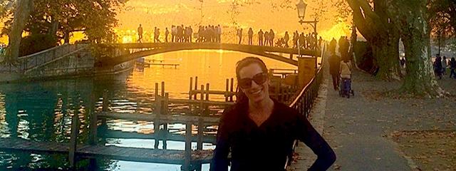 Traveler Natalie shares her fitness tips for tour