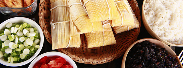 Try tamales in the Yucatan