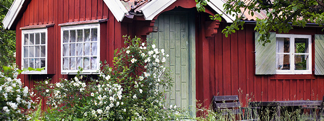 Spend the summer in a Swedish cottage