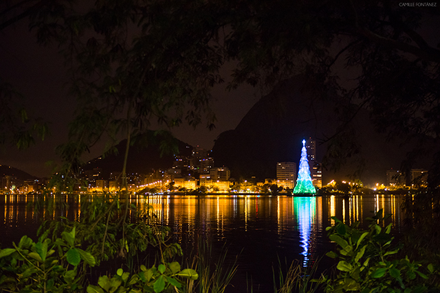 Christmas tree in Brazil