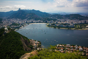 View of Brazil from Sugarloaf Mountain