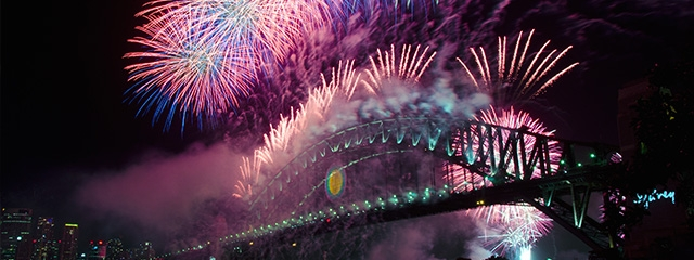 Celebrate New Year's Eve in Sydney