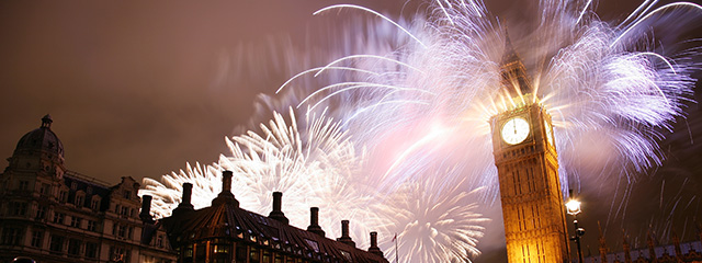 Celebrate New Year's Eve in London on tour