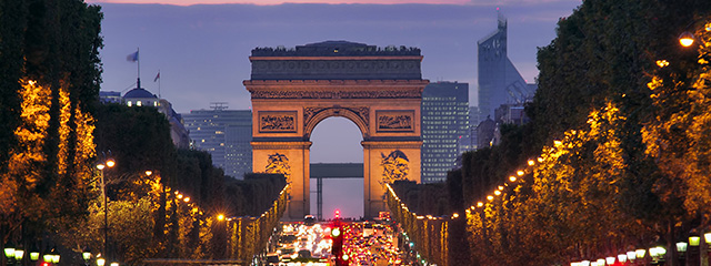 Celebrate New Year's Eve in Paris on tour