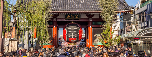 Celebrate New Year's Eve in Tokyo on tour