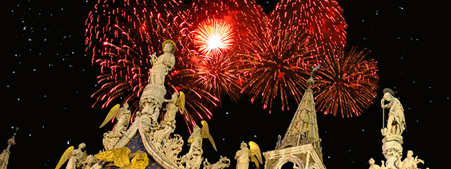 Celebrate New Year's Eve in Venice on tour