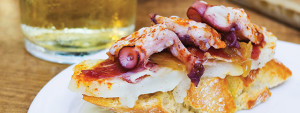 Try octopus in Northern Spain