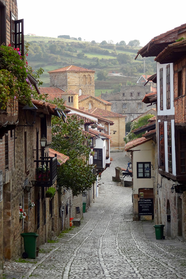 Santillana del Mar in Cantabria, Spain