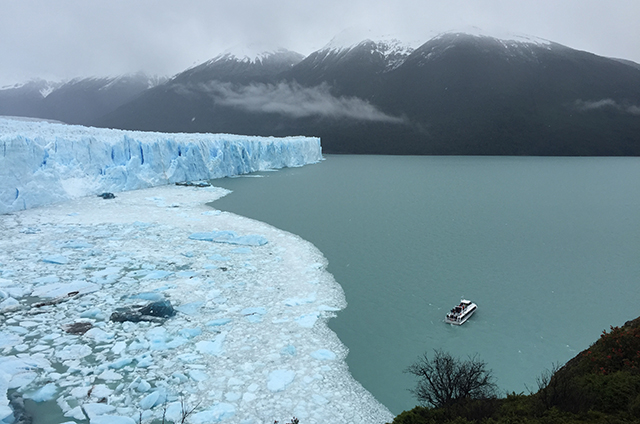 Perito Moreno Glacier in Los Glacieres National Park, Argentina, Patagonia