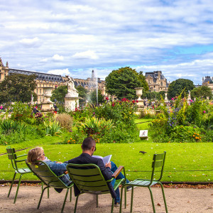 The Tuileries Garden in Paris is the perfect place to spend a sunny day