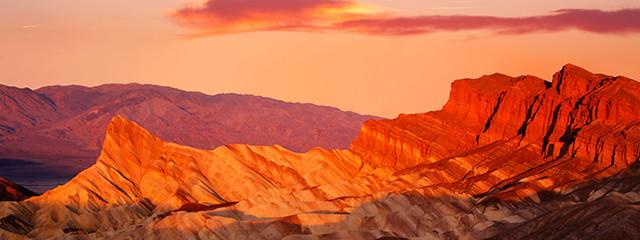 See the colorful landscapes at Badlands National Park