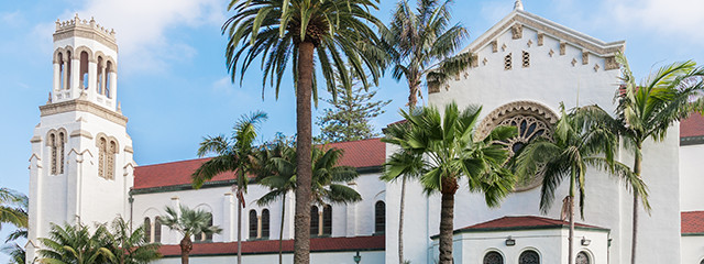 See the County Courthouse in Santa Barbara, California