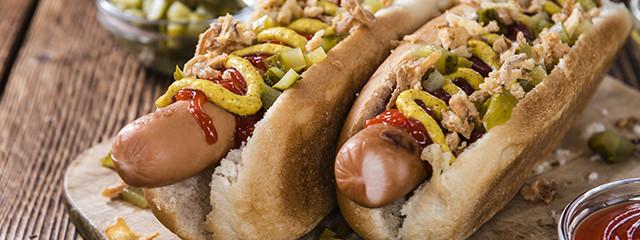 Hot dogs in Reykjavik, Iceland