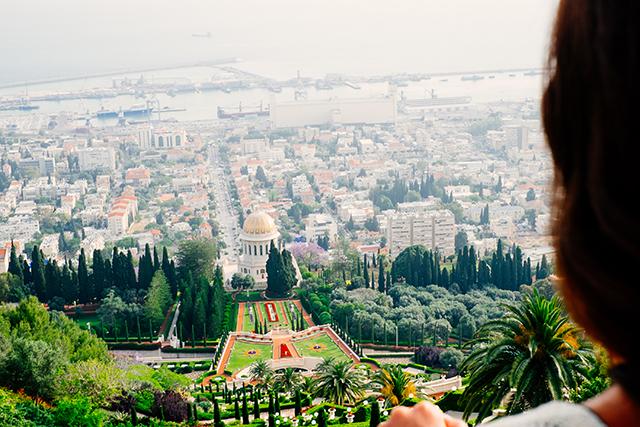 Bahai Gardens in Haifa, Israel