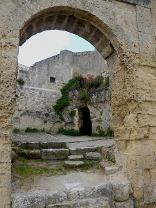 Exploring the Sassi in Matera, Italy