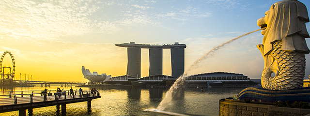 Singapore in Southeast Asia