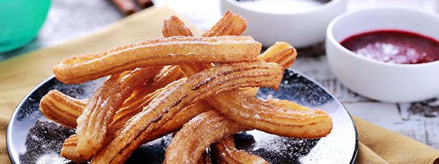 Eat churros in Spain