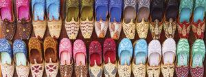 Shoes in a souk Dubai