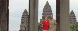 Exploring temples in Thailand and Cambodia
