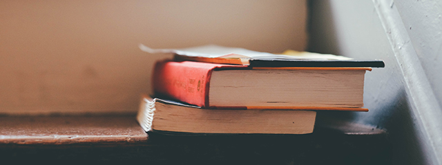 Books on steps_640x240px