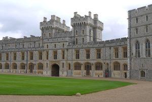 Windsor Castle in London, England