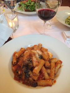 Dinner at Trattoria Toscana in Heidelberg, Germany