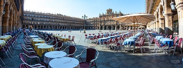 Plaza Mayor in Salamanca, Spain