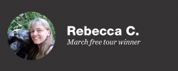 Celebrate travel: Our March free tour winner
