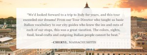 Review of Go Ahead's Venice, Florence & Rome tour