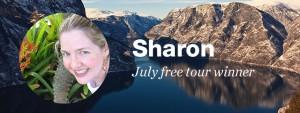 July free tour winner