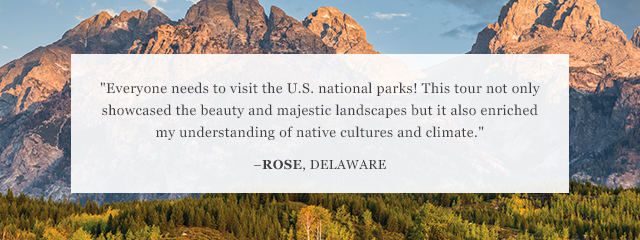 Review of Go Ahead's U.S. National Parks tour