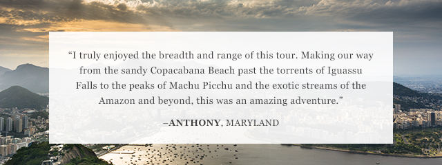 Review of Go Ahead's Grand Tour of South America