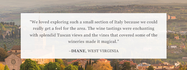 Review of Go Ahead's Food & Wine: Flavors of Tuscany & Umbria Tour