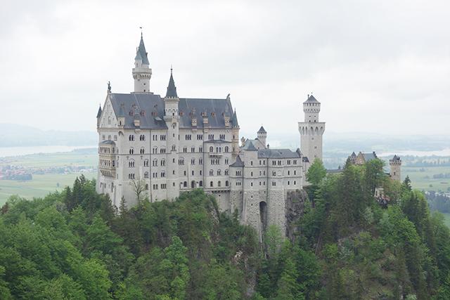 Neuschwastein Castle in Germany