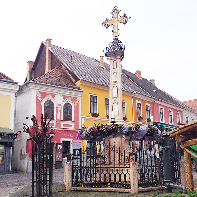 Ornaments of Szentendre near Budapest and Vienna